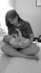 Andrea nursing Serah