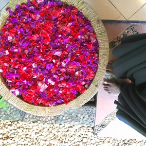 Floral Mandala in Ubud
