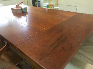 Handmade kitchen table by Brett Malone