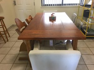 Handmade kitchen table by BrettMalone