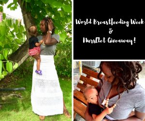 World Breastfeedding Week & NursElet Giveaway!