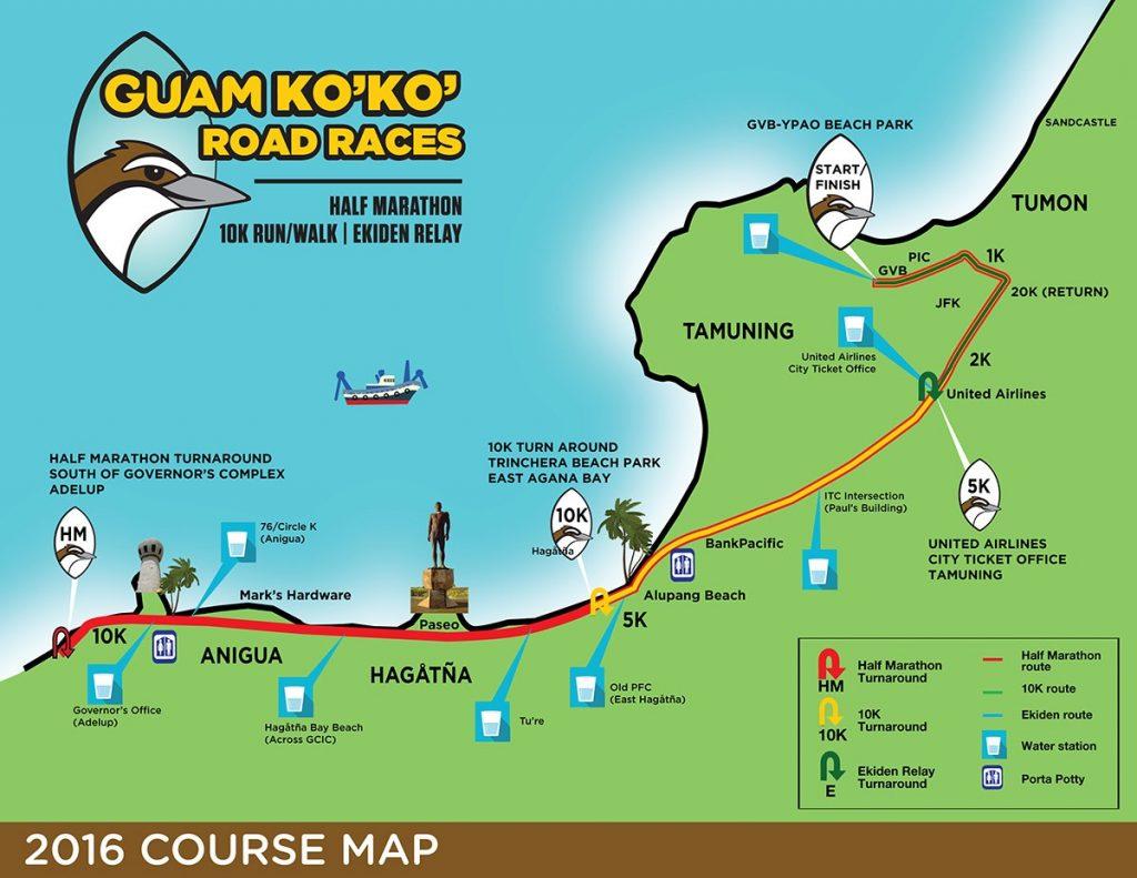 Ko'Ko Race Course Map