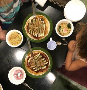 Okonomiyaki and Ramen