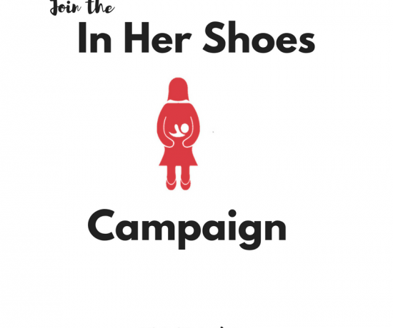 Join the In Her Shoes Campaign
