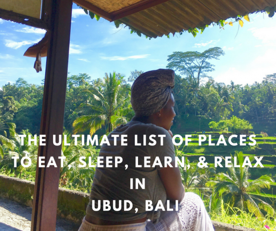 Ultimate List of Places to Visit in Ubud Balie