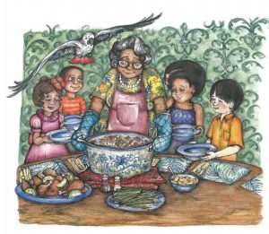 Book Review of Rice & Rocks for Multicultural Children's Book Day