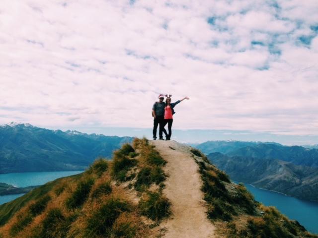 Kelsey in New Zealand