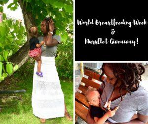 World Breastfeedding Week & NursElet Giveaway!