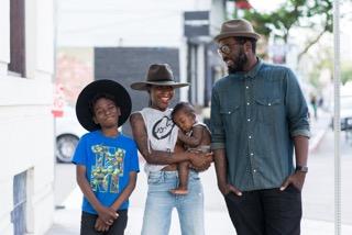 Brandi Sellerz-Jackson and family