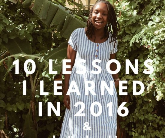 Anjelica Malone Life Lessons from 2016