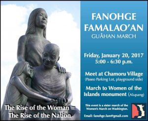 Guam sister march 20 January 2017